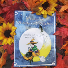 Wickedly Whimsical Witches Coloring Book